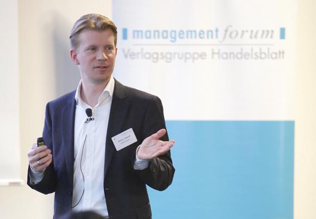 Hartmut Deiwick von Aponeo auf dem Onlinehandels-Kongress am 21. und 22. Januar in Bonn. (Foto: APONEO Apotheke )