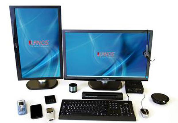 Mit LANOS den perfekten Arbeitsplatz gestalten. (Foto: LANOS Computer GmbH & Cie KG)