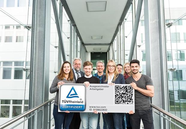 Als Arbeitgeber ausgezeichnet: WAGO erhält das Gütesiegel des TÜV Rheinland. (Foto: WAGO)