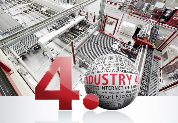 Die offene PC-basierte Steuerungstechnik von Beckhoff bietet der Möbelindustrie schon heute leistungsfähige Basistechnologien für eine gemäß Industrie 4.0 horizontal und vertikal vernetzte Fertigung. (Foto: Beckhoff Automation GmbH & Co. KG)