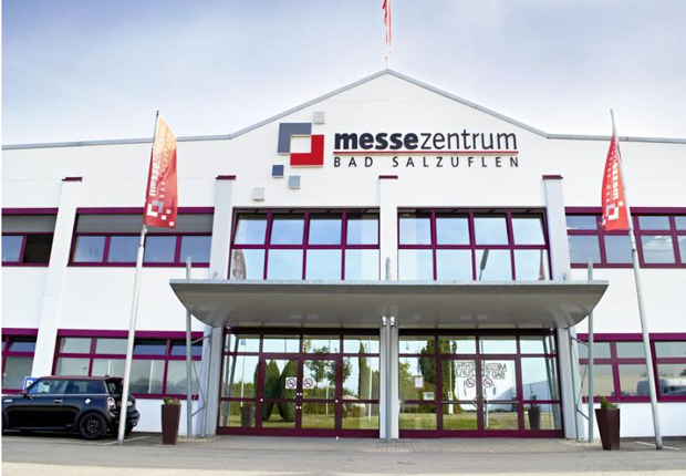 Das Messezentrum in Bad Salzuflen. (Foto: MesseHAL)