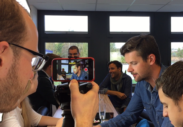 opwoco GmbH realisiert professionelles Video nur mithilfe eines iPhones. (Foto: opwoco GmbH)
