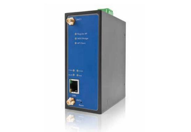 Mit dem DM500 hat der Systemanbieter Welotec einen besonders leistungsstarken WLAN-Access-  Point im Programm, der sich auch als Client oder WDS-Bridge nutzen lässt. (Foto: Welotec GmbH)