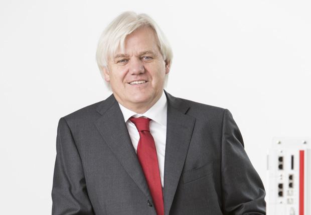 Hans Beckhoff, Geschäftsführender Inhaber der Beckhoff Automation GmbH & Co. KG (Foto: Beckhoff)
