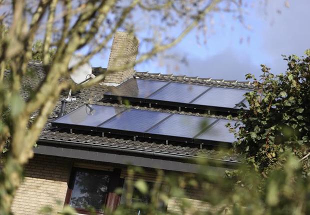 Auch Besitzer von Bestandsgebäuden profitieren seit dem 1. April von höheren Zuschüssen für die Solarthermie. (Foto: Westfalen AG)