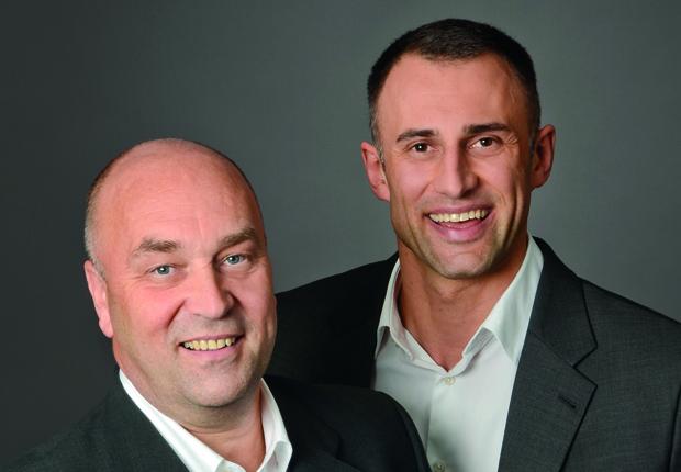(v.r.) Niko Keller und Frank Völker, Inhaber KVP Consulting. Info@KVP-Consulting.com (Foto: KVP)