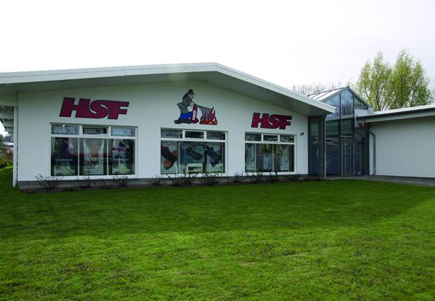 Über 1.000 qm für Brandschutz, Feuerlöschtechnik, Berufskleidung und Arbeitsschutz in Barntrup. (Foto: HSF)