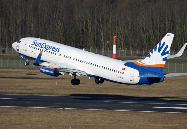 Die Fluggesellschaft SunExpress feiert Geburtstag und fliegt nun seit genau 25 Jahren den Flughafen Münster/Osnabrück an. (Foto: FMO Flughafen Münster/Osnabrück GmbH)