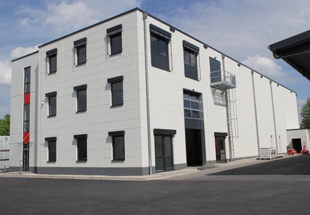 Neues Fertigwarenlager der Plantag-Gruppe in Detmold (Quelle: PLANTAG Coatings GmbH)
