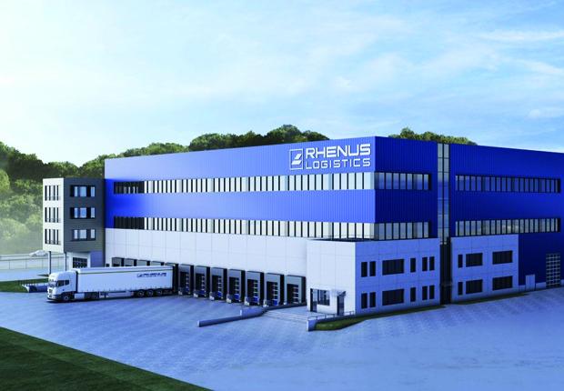 """Energieeffizient: Das neue Rhenus-Logistikcenter nach """"Schweizer Standard"""" (Foto: Architekt 7 Generalplaner: Co3plan GmbH"""
