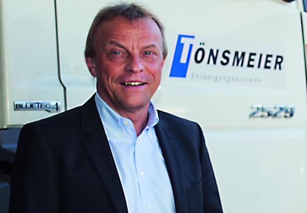 Bernd Ranneberg, Sprecher der Geschäftsführung der Tönsmeier Gruppe. (Foto: Press Medien)