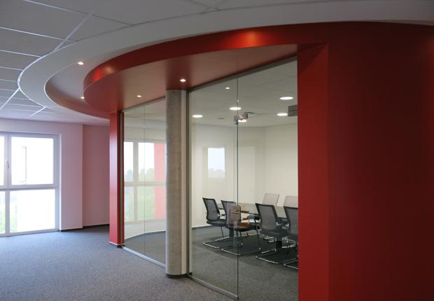 Neubau eines Büro- und Verwaltungsgebäudes in 33100 Paderborn. (Foto: aXon Gesellschaft für Informationssysteme mbH)