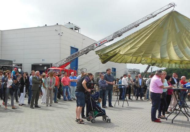 Rund 1.600 Besucher verbrachten einen bunten Nachmittag am Hengst Standort in Nordwalde. (Foto: Hengst Automotive)