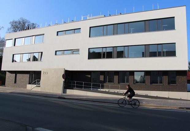 Die Umzüge sind abschlossen: Rund 60 Mitarbeiterinnen und Mitarbeiter des krz haben ihre Arbeit im Neubau an der Bismarckstraße aufgenommen. (Foto: krz)