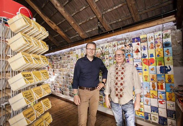 modern times-Geschäftsführer Andreas Mamerow (l.) und Firmengründerer Ecki Kühn (Foto: Katrin Biller)