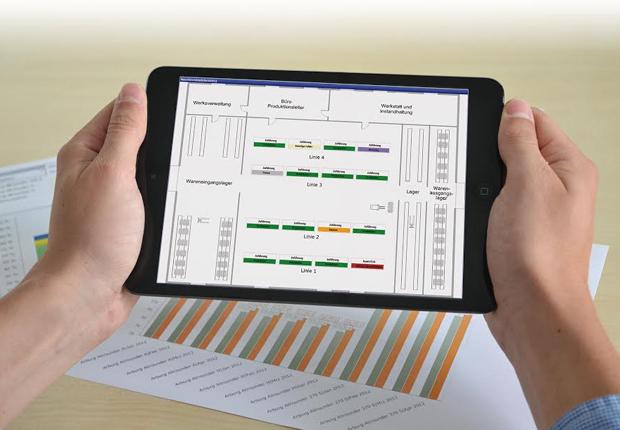 Das modulare und flexible MES-System FASTEC 4 PRO hilft Produktionsunternehmen bei der Aufdeckung ungenutzter Potenziale. Gleichzeitig bildet es die zwingend notwendige Informationsdrehscheibe auf dem Weg zur Industrie 4.0. (Foto: Fastec)