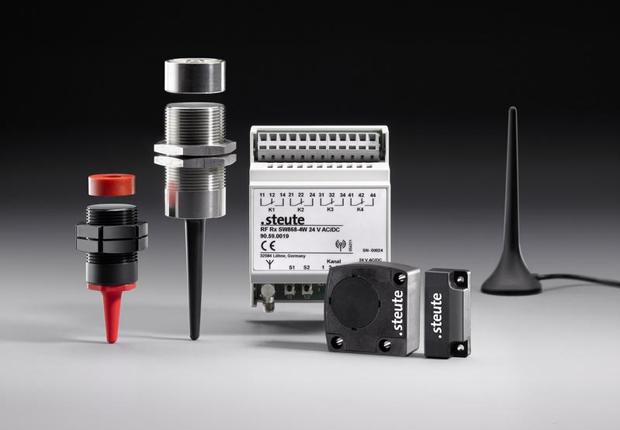 Vernetzte Funkschaltgeräte für die Montage- und Handhabungstechnik (Foto: steute)