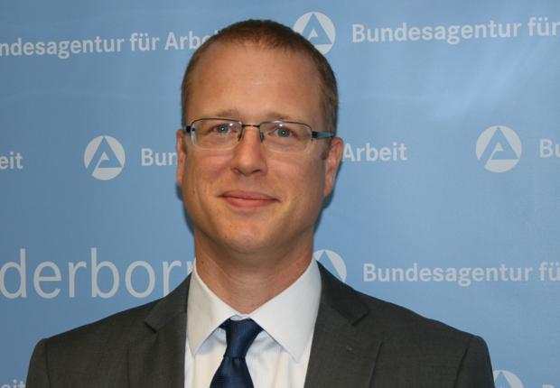 Holger Schütte, neuer Geschäftsführer für den operativen Bereich der Agentur für Arbeit Paderborn. (Foto: Agentur für Arbeit Paderborn)