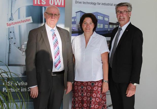Landrat besucht Technologieunternehmen in Detmold (Foto: MSF-Vathauer Antriebstechnik GmbH & Co KG)
