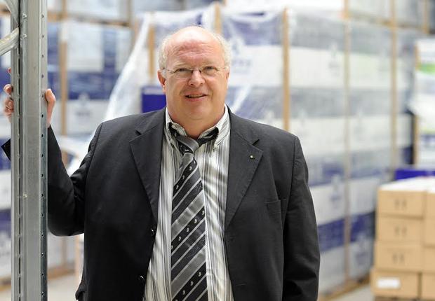 Diplom Kaufmann Siegbert Wortmann, Vorstandsvorsitzender der Wortmann AG (Gründung 1986) mit Sitz in Hüllhorst; Hersteller und Distributor von IT-Technologie; Zahlen 2010: ca. 400 Mitarbeiter, 400 Millionen Euro Umsatz. (Foto Wortmann AG)