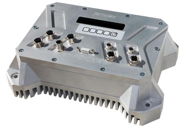 Die besondere Robustheit des emPC-CXR, einem von Janz Tec entwickelten Embedded PC, ist durch zahlreiche Prüfungen offiziell bestätigt. (Foto: Janz Tec AG)