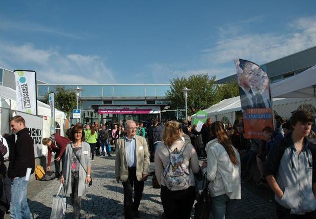 Knapp 8.000 Besucher bevölkerten die Berufe live in der IHK Lippe.