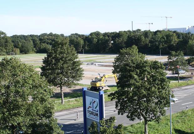 Parkplätze werden nochmals erweitert (Foto: A2 Forum)
