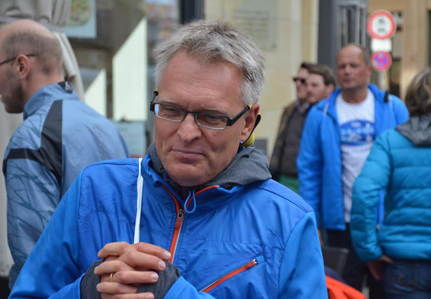 WESSLING Halbmarathon Läufer Heinz-Peter Janett (Foto: WESSLING Holding GmbH & Co. KG)