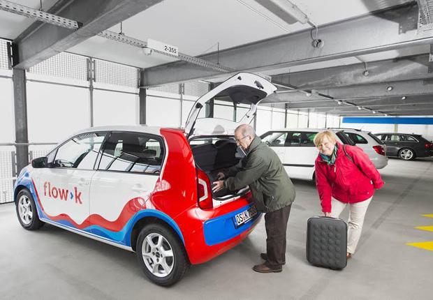Mit dem flow>k sind auch immer mehr ältere Menschen flexibel unterwegs – nicht zuletzt durch die sechs kostenfreien Abstellplätze in der Bahnhofsgarage. (Foto: Stadtwerke Osnabrück AG)