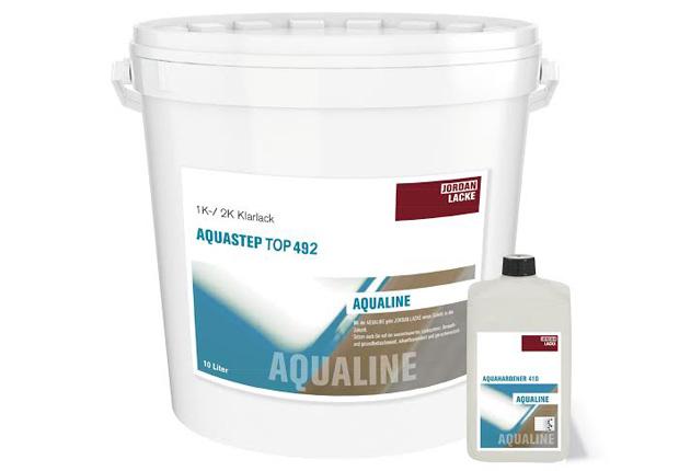 1K+2K Aquastep TOP 492 (Foto: JORDAN Lacke GmbH)