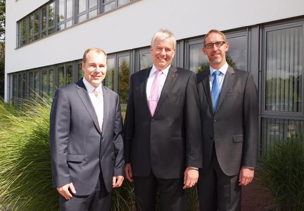 v. l. Erik Schröder, Holger Piening, Louis Coenen (Foto: Piening Personal)