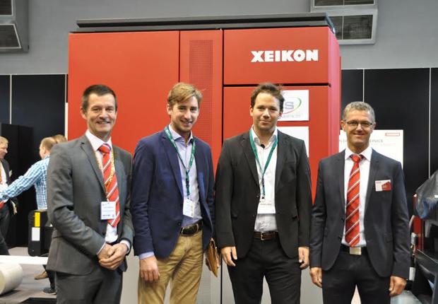 Ulrich Etiketten erweitert seine Kapazitäten im Digitaldruck mit der neuen Xeikon CX3, um noch schneller und produktiver auf die Marktanforderungen reagieren zu können (Foto: ULRICH ETIKETTEN)