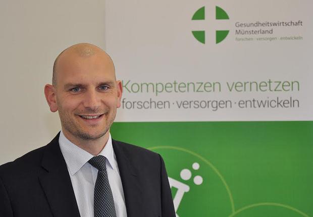 Der neue Geschäftsführer des Netzwerks Gesundheitswirtschaft Münsterland heißt Johannes Technau. (Foto: Martin Rühle/GeWi Münsterland)