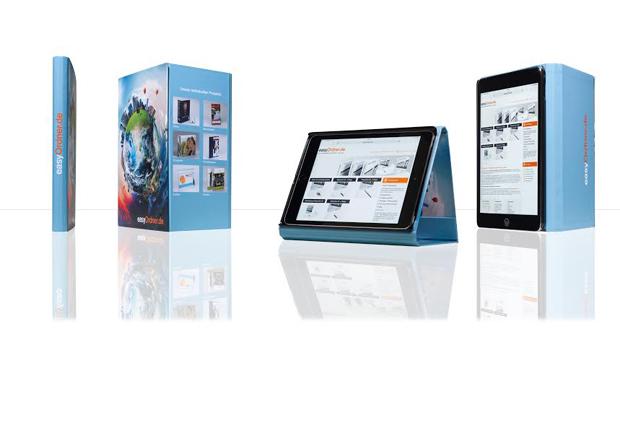 Die Schutzhüllen verleihen den Tablets einen individuellen Look. Durch das stabile Case wird das Tablet bestens aufgenommen und geschützt. Zugleich bleibt die Funktionalität erhalten. (Foto: Achilles Gruppe)