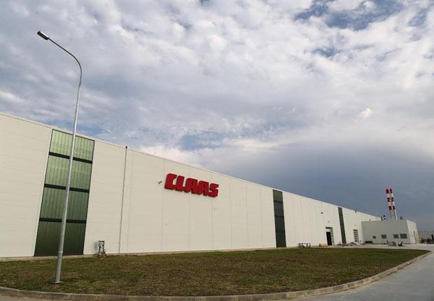 Das neue Werk in Krasnodar ist die gegenwärtig modernste Produktionsstätte für Landtechnik in Europa. (Foto: CLAAS KGaA mbH)