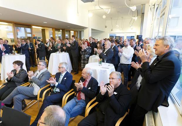 Businessbreakfast bei Wohn+Stadtbau mit Vortrag von Sandra Wehrmann (Foto: Münsterview/Tronquet)