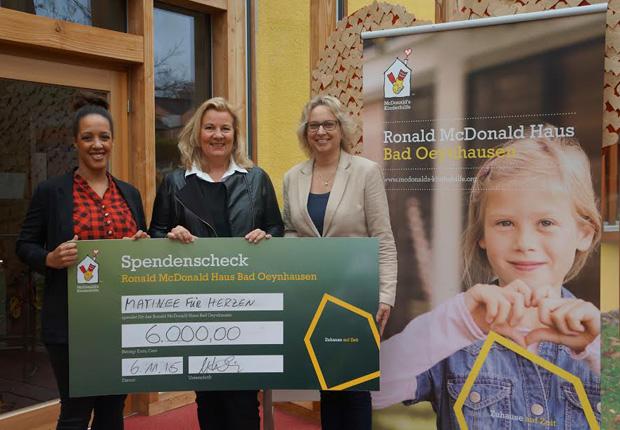(v.l.) Charleen White, Stefanie Kruse, Martina Theel (Foto: GOP Kaiserpalais Bad Oeynhausen GmbH & Co. KG)
