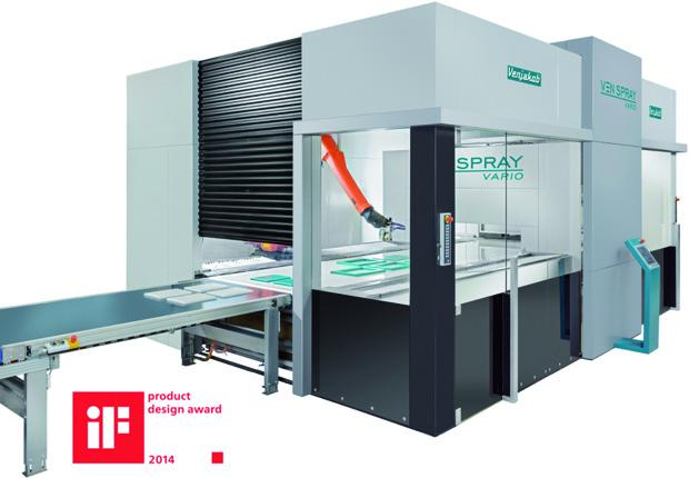 Die Spritzkabine VEN SPRAY Vario stellt eine der neuesten Spritzkabinen des Unternehmens Venjakob Maschinenbau dar. (Foto: Universität Paderborn)