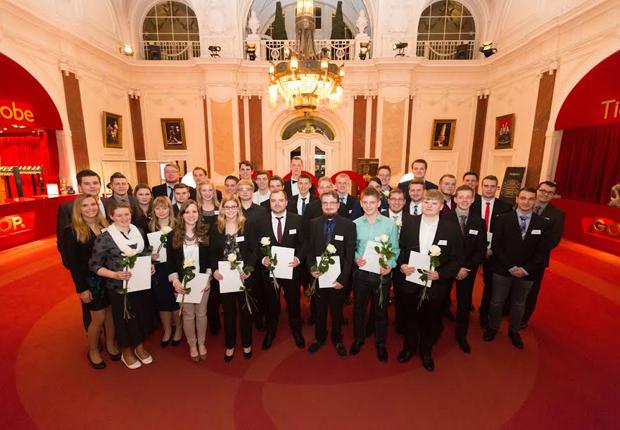 Die 37 besten Auszubildenden aus dem Kreis Minden- Lübbecke. (Foto: WAGO)