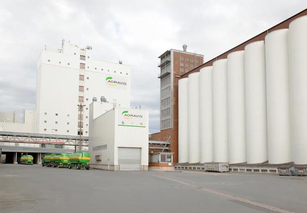 Das AGRAVIS Futtermittelwerk in Münster. (Foto: AGRAVIS)