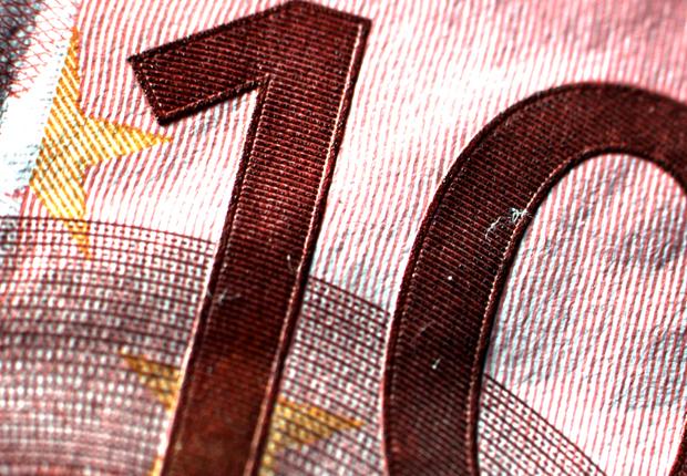 Gut zu erfühlen und zu sehen: Der Stahlstichdruck auf einer 10-Euro-Banknote. (Foto: CENTRUM INDUSTRIAL IT (CIIT))