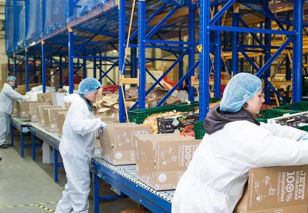 Qualität hat oberste Priorität: B+S schulte seine Mitarbeiter eigens für den Auftrag von Hello Fresh. (Foto: B+S GmbH)