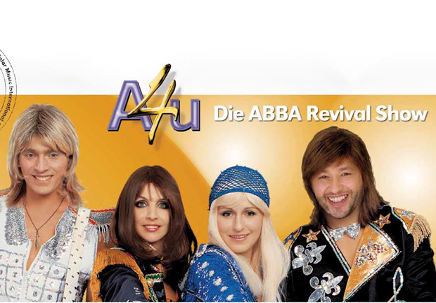 Eines der Bühnen-Highlights beim Landespresseball NRW: Europas erfolgreichste ABBA-Revival-Show (Foto: GOP Kaiserpalais Bad Oeynhausen GmbH & Co. KG)