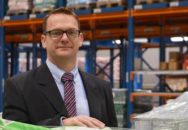 Roland Pöppelbaum (42) ist neuer Leiter des Distributionszentrums der AGRAVIS Raiffeisen AG in Münster. (Foto: AGRAVIS Raiffeisen AG)