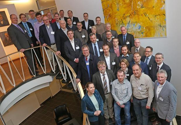 Die Regionalen Energieeffizienznetzwerke Emsland und Osnabrück trafen sich in den Räumen der IHK am Neuen Graben in Osnabrück. (Foto: IHK Osnabrück)