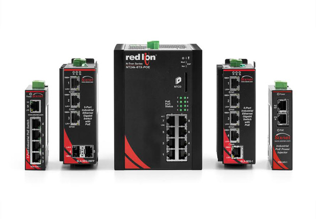 Welotec_RedLion_Power-over-Ethernet.jpeg: Welotec hat zahlreiche Power-over- Ethernet-Switches und PoE-Injektoren im Programm, die jeweils für verschiedene Anwendungen konzipiert sind (Foto: Welotec)