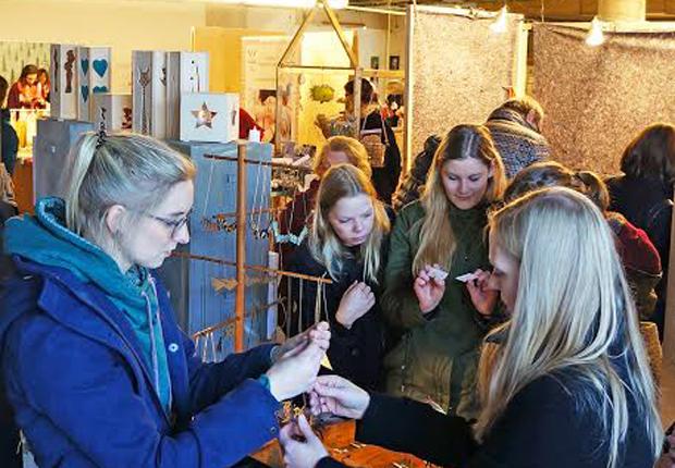 Der Marktplatz für junges Design in OWL (Foto: DESIGNZIRKUS)