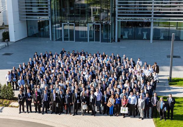 Mehr als 250 internationale Gäste konnte WAGO in Minden begrüßen (Foto: WAGO)
