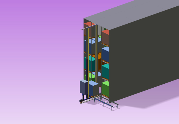 de Man bietet neue Lagersysteme für jede Anforderung (Foto: de Man Automation + Service)