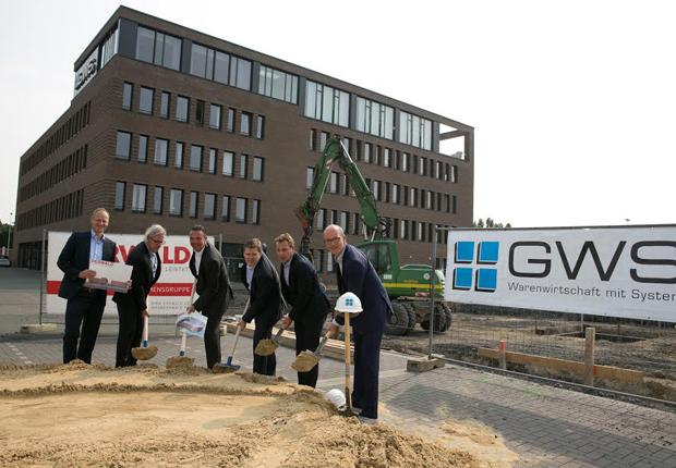 Falko Derwald, Uwe Landheer, Udo Lorenz, Georg Mersmann, Detlef Thiemann, Dr. Thomas Robbers (Wirtschaftsförderung Münster) (Foto: GWS)
